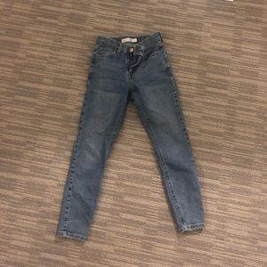 TopShop Jamie High Rise Jeans Petite Sz24